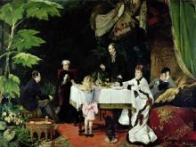 The Luncheon in the Conservatory, 1877